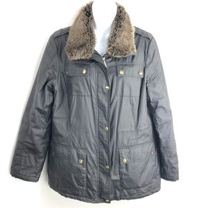Micheal Kors Military Jacket Brown Medium